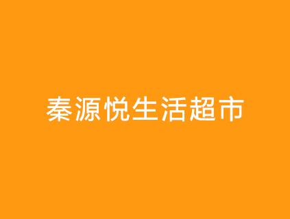 秦源悦生活超市收银系统超市监控安防案例